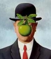 Son of Man - René Magritte, 1964